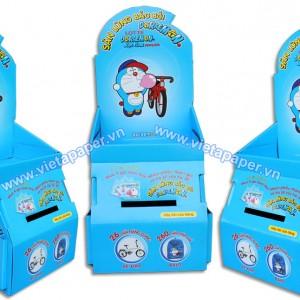 sản xuất kệ giấy trưng bày kẹo gum 01
